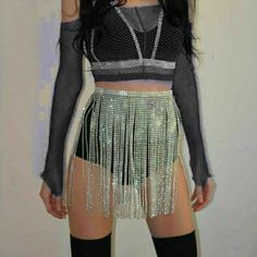 Kpop Fashion Outfits, Stage Outfits, Edgy Outfits, Cute Outfits, Kawaii Fashion, Casual Dresses For Women, Fancy, Closet, Ideas