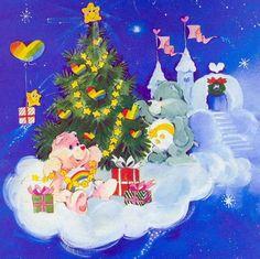 Classic Cheer Bear & Wish Bear in Christmas Christmas Gifts 2016, Christmas Art, Vintage Christmas, Best Cartoons Ever, Cool Cartoons, Care Bears Vintage, Bear Songs, Bear Pictures, Rainbow Brite
