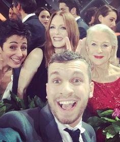 """""""Goldene Kamera"""": Die Party-Selfies von Preisträger Edin Hasanovic - TV - Bild.de"""