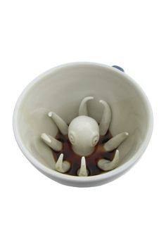 Octopus Creature Cup http://shop.nylon.com/collections/whats-new/products/octopus-creature-cup #NYLONshop