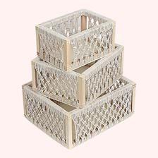 Macrame Art, Macrame Design, Macrame Knots, Baskets For Shelves, Storage Baskets With Lids, Storage Crates, Basket Storage, Wood Storage, Living Room White