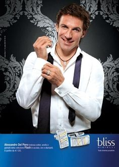 Del Piero in a Bliss ad #Juventus
