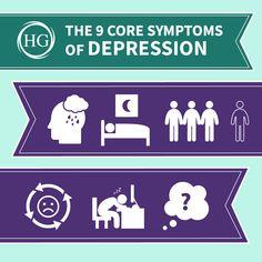 Depression, Core