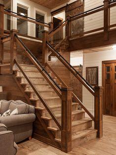 Charming Saskatchewan Lakeside Retreat   Rustic   Staircase   Other Metro   Northern  Sky Developments
