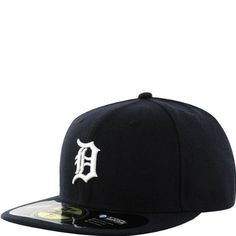 New Era Detroit Tigers Navy Blue On-Field 59FIFTY Fitted Hat-