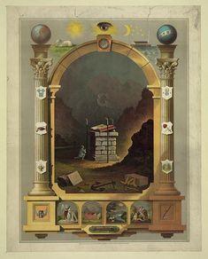 [Masonic chart] masonic eye