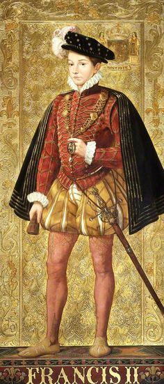 King Henri II, King of France (1519–1559) on Horseback by ...