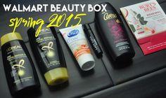 Walmart Beauty Box Spring 2015 - Painted Ladies