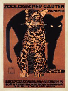 Zoologischer Garten, 1912 Stampa artistica