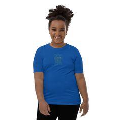 Youth Short Sleeve T-Shirt - True Royal / L