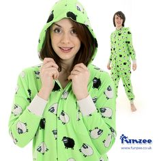 Our 'Spring' Funzee. Making us wish the weather was that little bit better in the UK!    Available now http://www.funzee.co.uk/product-range/cotton-onesie-for-adults-spring-funzee