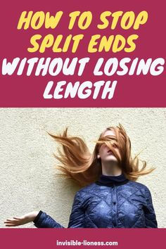 Do you want to stop split ends and breakage but don't know what to do other than chopping it off? These tips will help you get rid of split ends while keeping your length! Growing Out Short Hair Styles, Grow Long Hair, Long Hair Styles, Healthy Hair Tips, Healthy Hair Growth, Diy Hair Care, Hair Care Tips, Easy Hairstyles For Long Hair, Diy Hairstyles