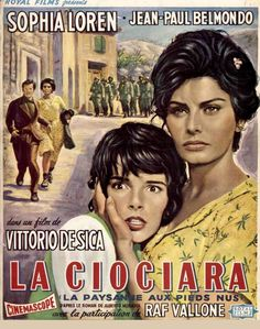 "Two Women (1960, Vittorio De Sica) / Original title:  La ciociara, ""The Woman from Ciociaria"")"