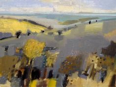 malcolm ashman: Summer Colour at Foss Fine Art Abstract Landscape Painting, Art Painting, Abstract Artists, Lovers Art, Abstract Painting, Painting, Landscape Art Painting, Abstract, Modern Art Abstract