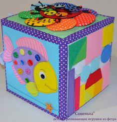 Мягкий развивающий кубик!!! - Рукоделие - Babyblog.ru