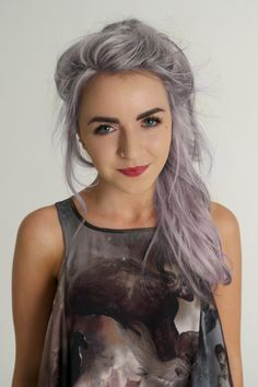 How To Dye Your Hair Purple Hairstyles Hair Styles Hair