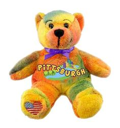 Pittsburgh City Bear Multicolor