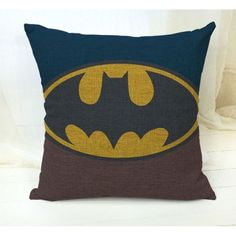 Throw Pillow Covers | Vintage Batman Theme | UniikStuff