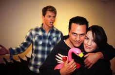 Chad Duell, Maurice Benard, & Kristen Alderson