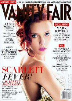 by Mario Sorrenti with Scarlett Johansson for Vanity Fair