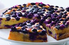 Borůvky v tvarohu Czech Desserts, Blueberry Recipes, Food Hacks, Food Tips, French Toast, Cheesecake, Sweets, Breakfast, Cakes