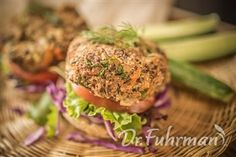 Black Bean and Turkey Burgers | Recipe Guide | Dr Fuhrman.com
