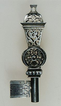 French Masterpiece key - second half 17th Century