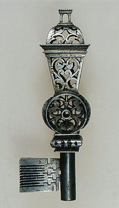 French Masterpiece key - second half 17th Century