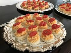 Cheddar and Tomato Tea Sandwiches - Catering by Debbi Covington - Beaufort, SC
