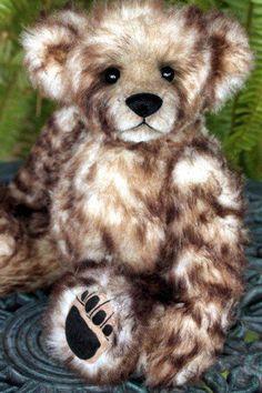 "OOAK MOHAIR BUDDY TEDDY BEAR 12"" ORIGINAL KIMBEARLYS ARTIST MADE #1 / #1 #AllOccasion"