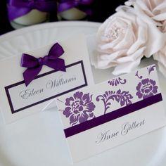 Purple Wedding Reception  ... Wedding ideas for brides, grooms, parents & planners ... https://itunes.apple.com/us/app/the-gold-wedding-planner/id498112599?ls=1=8 … plus how to organise an entire wedding ♥ The Gold Wedding Planner iPhone App ♥ http://pinterest.com/groomsandbrides/boards/