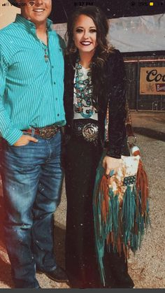 We can appreciate some good NFR fashion!