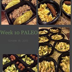 Keeping the MealPreps very simple right now being that I'm busy packing and in between homes.  For breakfast:  Scrambled eggs and chicken sausage  For Lunch/Dinners:  Chicken #Meatballs and Roasted broccoli  #Pesto #Tilapia with a side of #Quinoa  Pan fried #chickenboobies and asparagus with a lemon sauce  #mealprep #mealprepmonday #mealprepsunday #mealprepping #fitfoods #paleo #primal #cleaneating#primaleating #foodporn #igfood #igfoods by scoobs_81