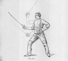 Alfred Hutton's The Swordsman, from 1891. Photocopy, scanned. Free. Enjoy! #onselz