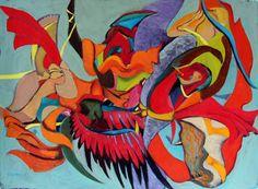 "Saatchi Art Artist Karolina Franceschini; Painting, ""My mother's marriage"" #art"