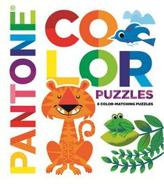 Pantone colour puzzles book by LLC pantone and Tad Carpenter. This is a colourful book which includes puzzles and stylized art interactive book for all ages.