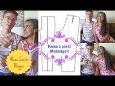 Molde de calça masculina Alana Santos Blogger - YouTube