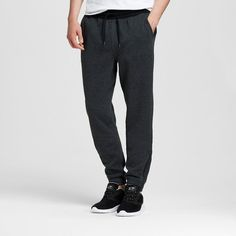 Men's Knit Jogger Charcoal (Grey) L - Mossimo Supply Co., Size: Large