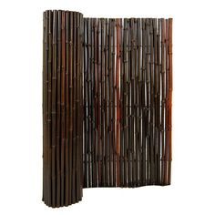 "Backyard X-Scapes Rolled Bamboo Fence $39.97 for 72""H x 96""W"