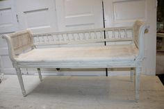 Hey, I found this really awesome Etsy listing at https://www.etsy.com/listing/196469080/antique-french-bench-settee-painted