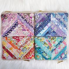 liberty string pouches by Shelby Mullin