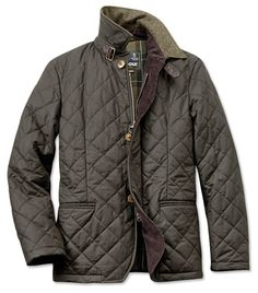 Just found this Barbour Collared Quilted Jacket For Men - Barbour%26%23174%3b Tapton Jacket -- Orvis on Orvis.com!