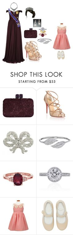 """""""2026 - Hosting a Tea Party at The Palace"""" by princesscarolina ❤ liked on Polyvore featuring Jenny Packham, Coast, Christian Louboutin, TIARA, Penny Preville and Tiffany & Co."""