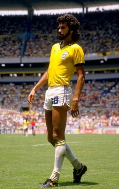 Socrates at World Cup 1986.