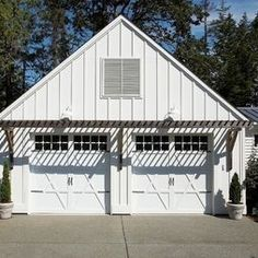 Garage door trellis or arbors a frame garage love the for Garage appeal coupon code