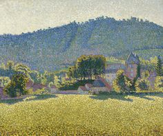 thunderstruck9:  Paul Signac (French, 1863-1935), Comblat-le-Château. La Vallée, July 1887. Oil on canvas, 46.5 x 55 cm.