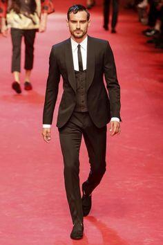 #Menswear #Trends Dolce & Gabanna Spring Summer 2015 #Primavera Verano #Tendencias #Moda Hombre