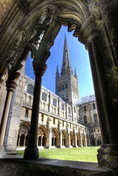 Founded in 1249 Norwich Cathedral, UK