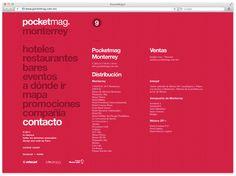 Pocketmag. on Behance