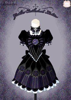 Gothic Cathedral Lolita by Neko-Vi.deviantart.com on @DeviantArt